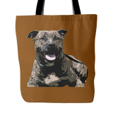 Staffordshire Bull Terrier Dog Tote Bags - Staffordshire Bull Terrier Bags - TeeAmazing - 2
