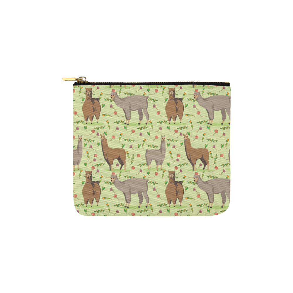 llama Carry-All Pouch 6x5 - TeeAmazing