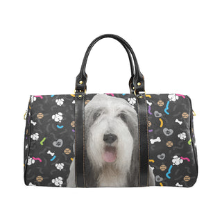 Bearded Collie Dog New Waterproof Travel Bag/Small (Model 1639) - TeeAmazing