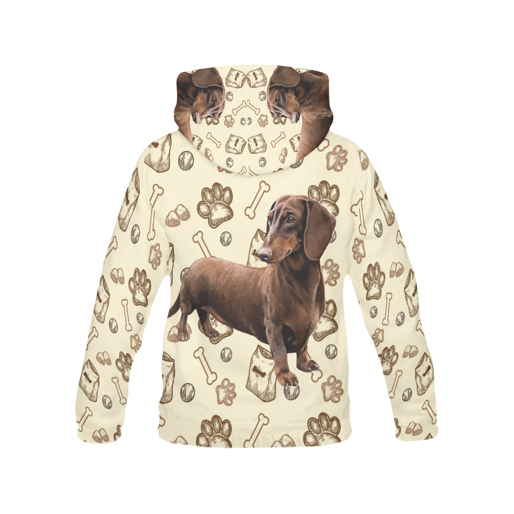 Dachshund V2 All Over Print Hoodie for Men - TeeAmazing