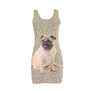 Pug Lover Medea Vest Dress - TeeAmazing