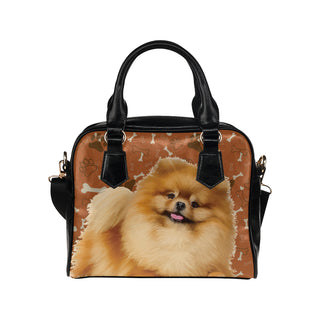 Pomeranian Dog Shoulder Handbag - TeeAmazing