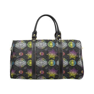 Lotus and Mandalas New Waterproof Travel Bag/Small - TeeAmazing