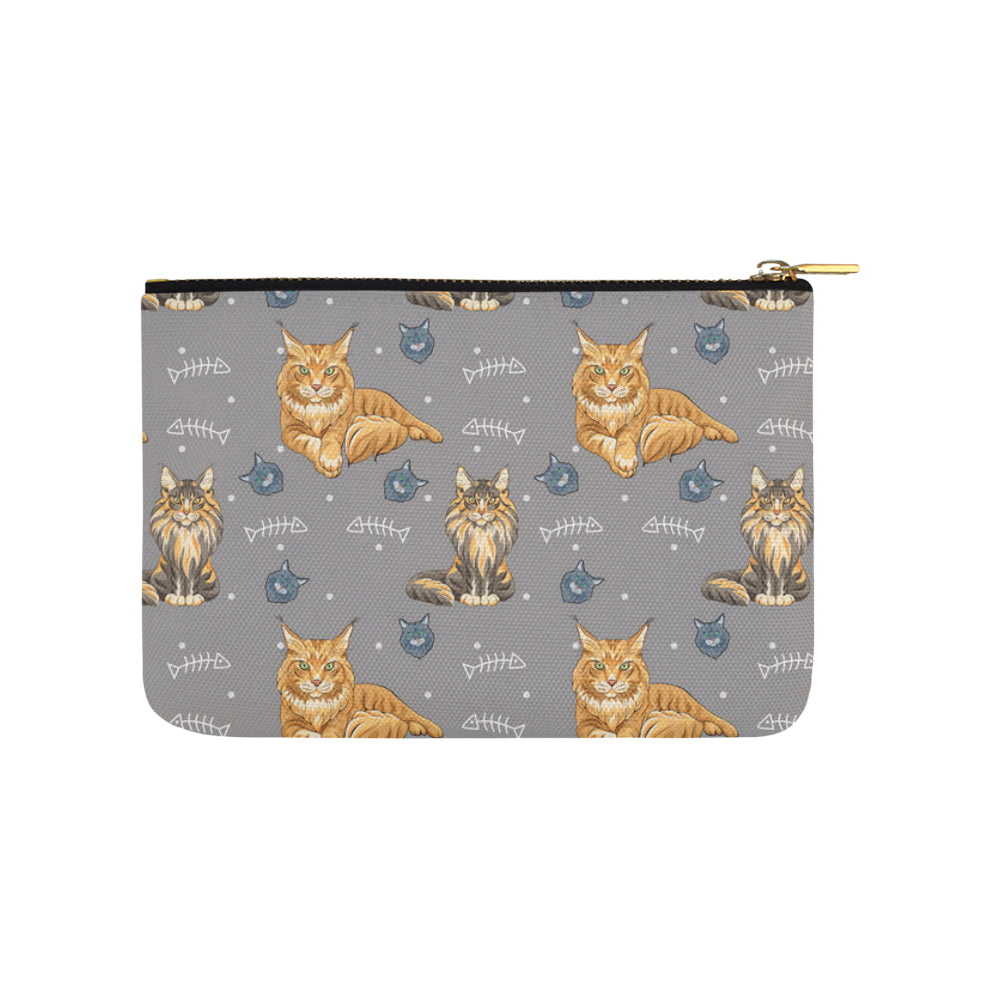 Maine Coon Carry-All Pouch 9.5x6 - TeeAmazing