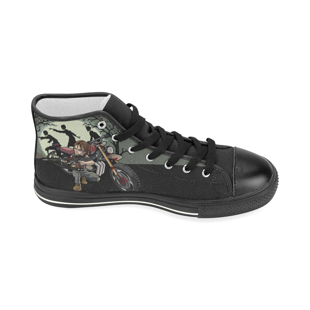 Daryl Dixon Shoes & Sneakers - Custom Canvas Shoes - TeeAmazing