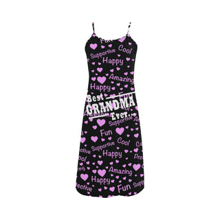 Best Grandma Ever Alcestis Slip Dress - TeeAmazing