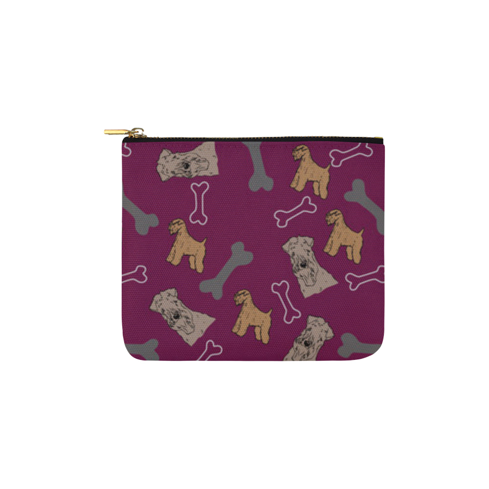 Soft Coated Wheaten Terrier Pattern Carry-All Pouch 6x5 - TeeAmazing