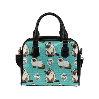 Himalayan Cat Shoulder Handbag (Model 1634) - TeeAmazing