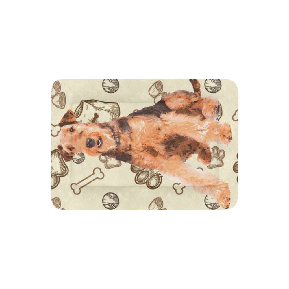 "Airedale Terrier Dog Beds 30""x21"" - TeeAmazing"