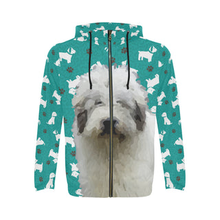 Mioritic Shepherd Dog All Over Print Full Zip Hoodie for Men - TeeAmazing