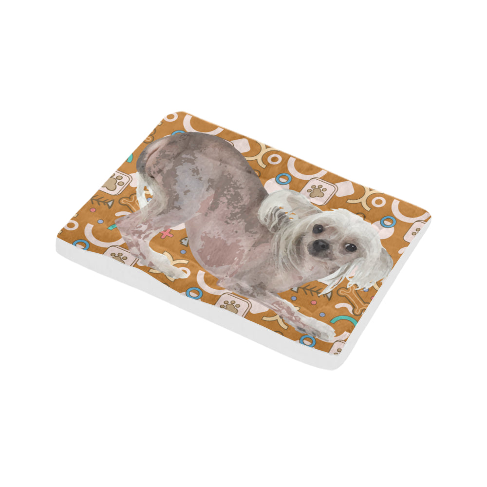 "Cute Chinese Crested Dog Beds 30""x21"" - TeeAmazing"