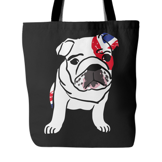 English Bulldog Dog Tote Bags - English Bulldog Bags - TeeAmazing