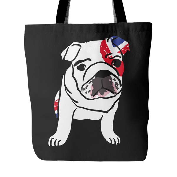 English Bulldog Dog Tote Bags - English Bulldog Bags - TeeAmazing - 1