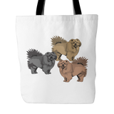 Chow Chow Dog Tote Bags - Chow Chow Bags - TeeAmazing