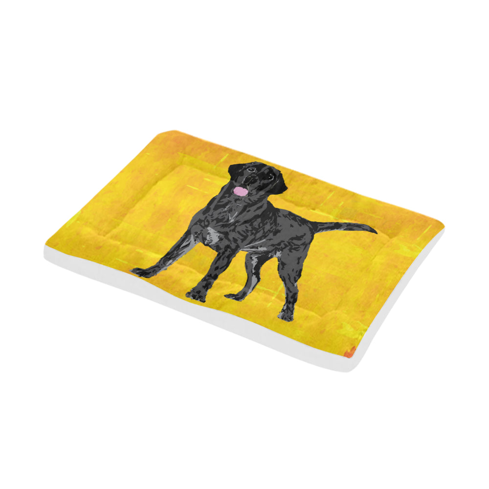 "Black Labrador Dog Beds 36""x23"" - TeeAmazing"