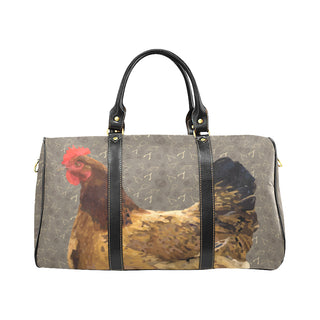 Chicken Footprint New Waterproof Travel Bag/Large - TeeAmazing