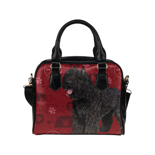 Bouviers Dog Shoulder Handbag (Model 1634) - TeeAmazing