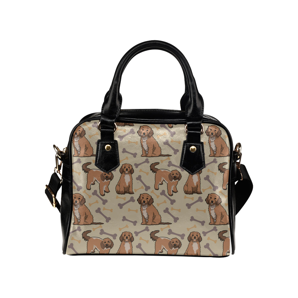 Cockapoo Shoulder Handbag - TeeAmazing