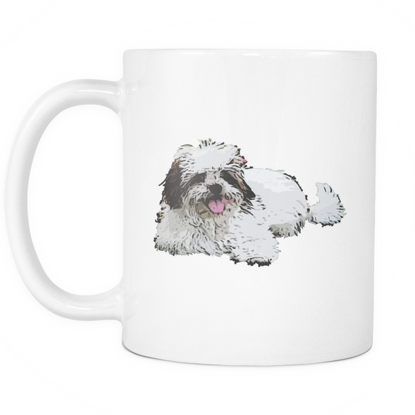 Lhasa Apso Dog Mugs & Coffee Cups - Lhasa Apso Coffee Mugs - TeeAmazing - 1