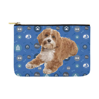 Cavapoo Dog Carry-All Pouch 12.5x8.5 - TeeAmazing