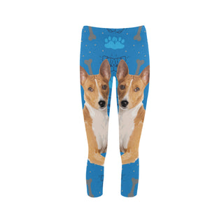 Basenji Dog Capri Legging (Model L02) - TeeAmazing