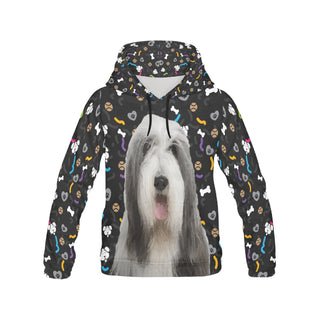 Bearded Collie Dog All Over Print Hoodie for Women - TeeAmazing
