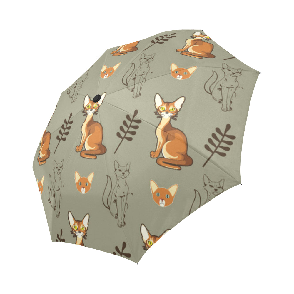 Abyssinian Auto-Foldable Umbrella - TeeAmazing