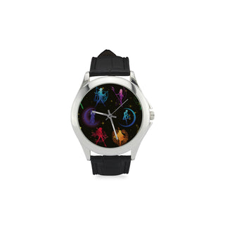 All Sailor Soldiers Women's Classic Leather Strap Watch - TeeAmazing