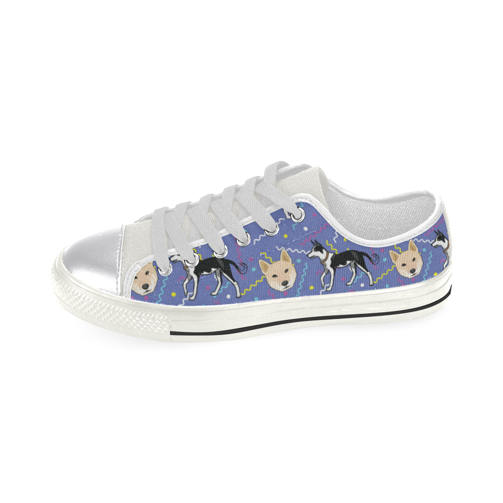 Canaan Dog White Women's Classic Canvas Shoes - TeeAmazing