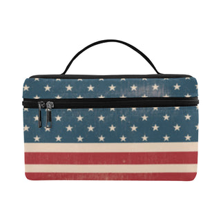 4th July V2 Cosmetic Bag/Large - TeeAmazing