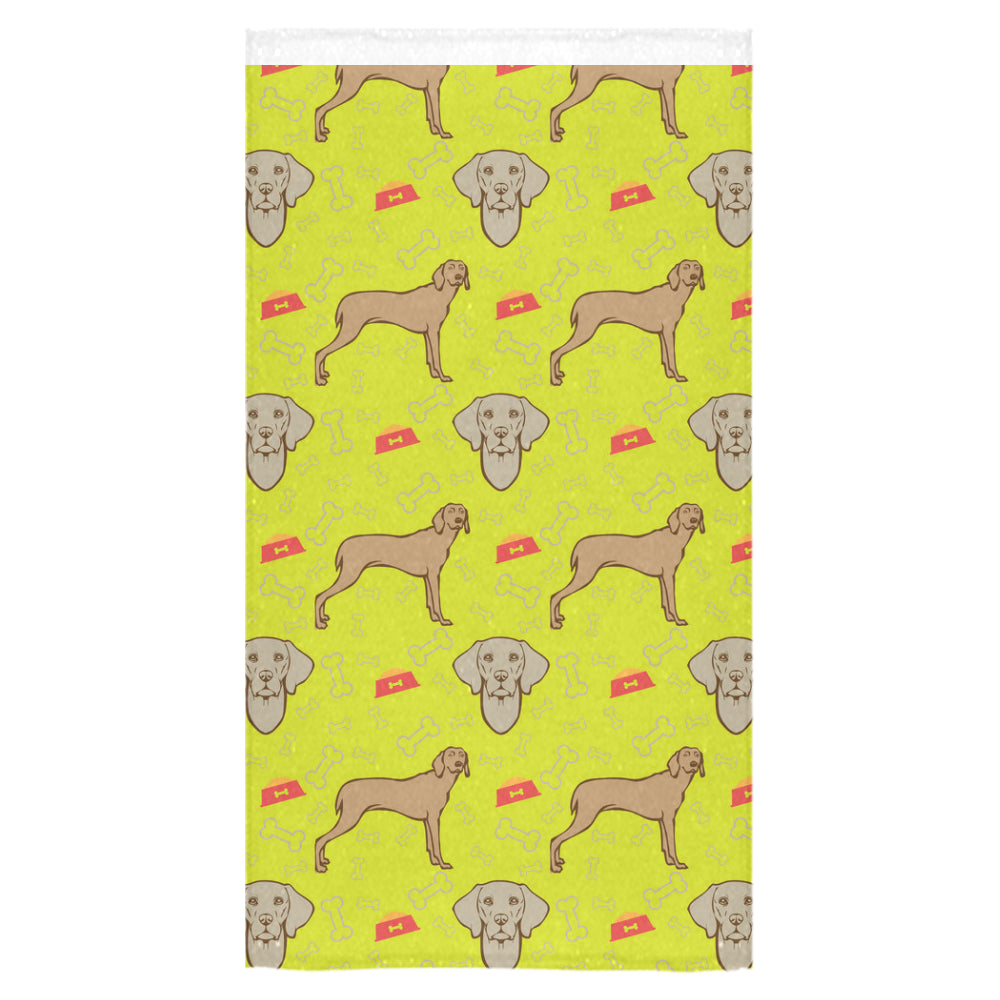 "Weimaraner Pattern Bath Towel 30""x56"" - TeeAmazing"