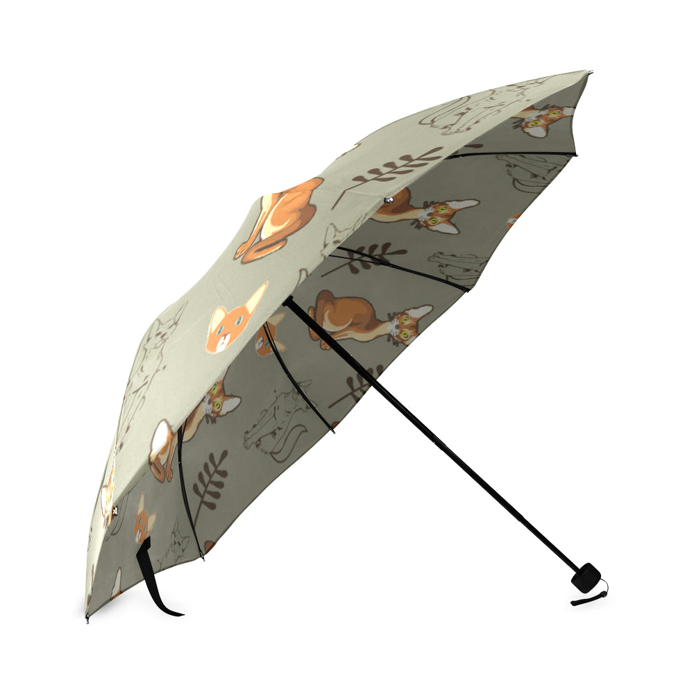 Abyssinian Foldable Umbrella - TeeAmazing