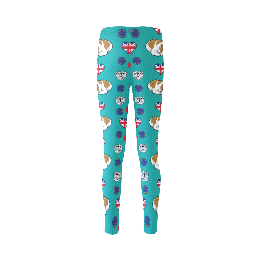 English Bulldog Cassandra Women's Leggings - TeeAmazing