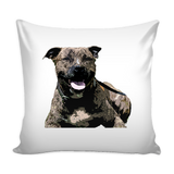 Staffordshire Bull Terrier Dog Pillow Cover - Staffordshire Bull Terrier Accessories - TeeAmazing - 1