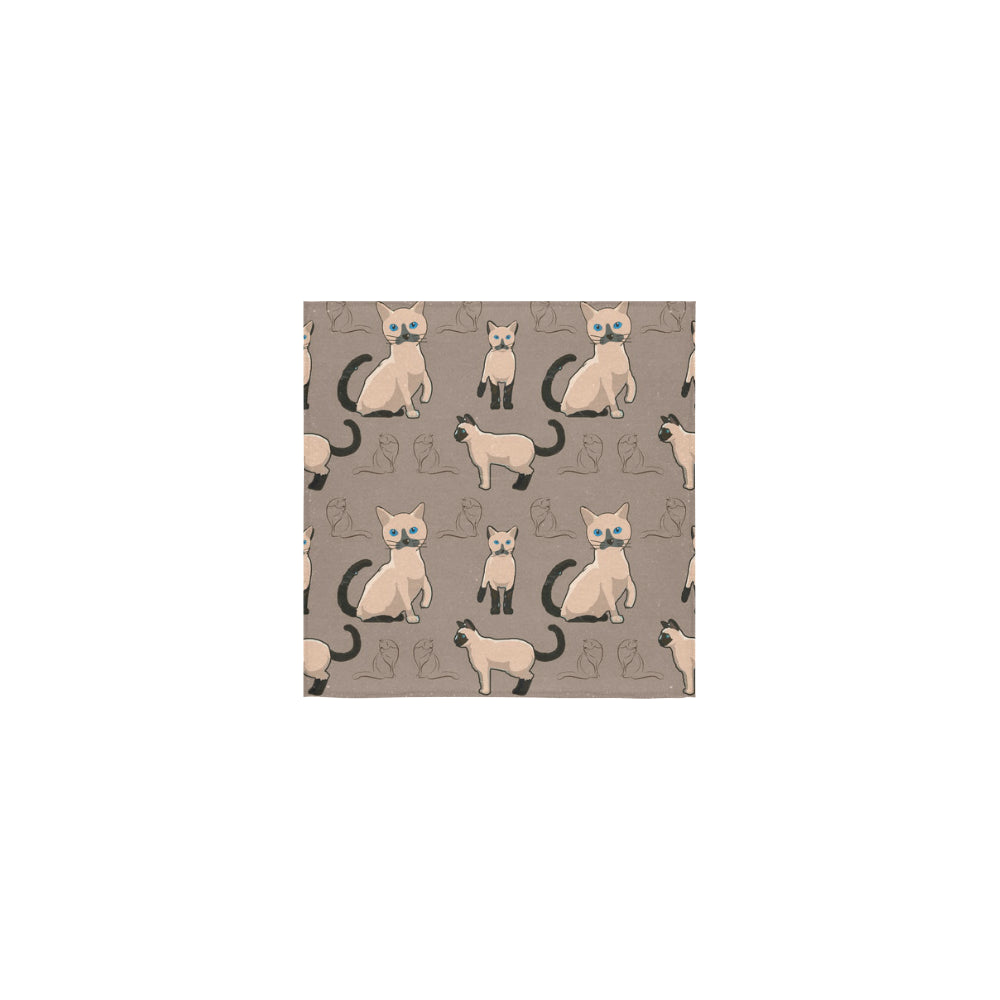 Tonkinese Cat Square Towel 13x13 - TeeAmazing