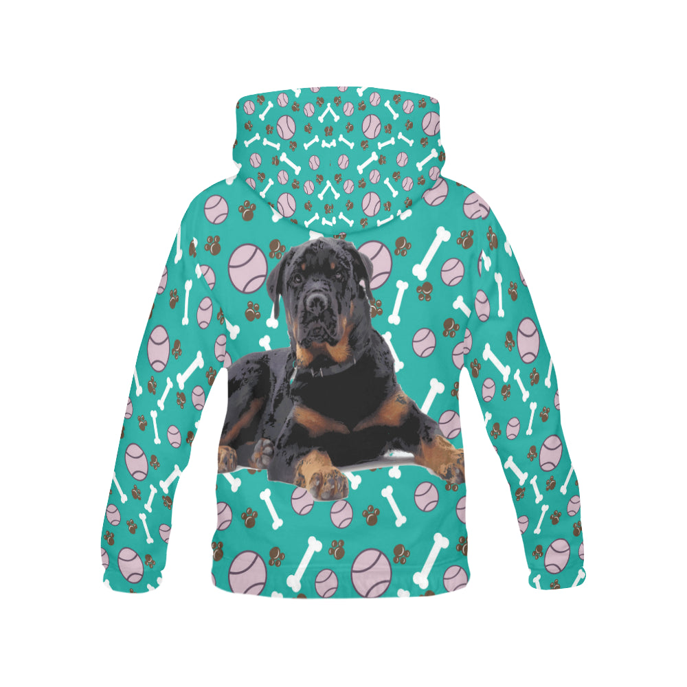 Rottweiler All Over Print Hoodie for Men - TeeAmazing