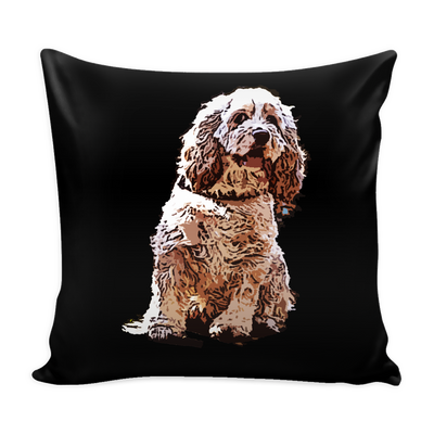 American Cocker Spaniel Dog Pillow Cover - American Cocker Spaniel Accessories - TeeAmazing - 1