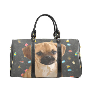 Puggle Dog New Waterproof Travel Bag/Large (Model 1639) - TeeAmazing