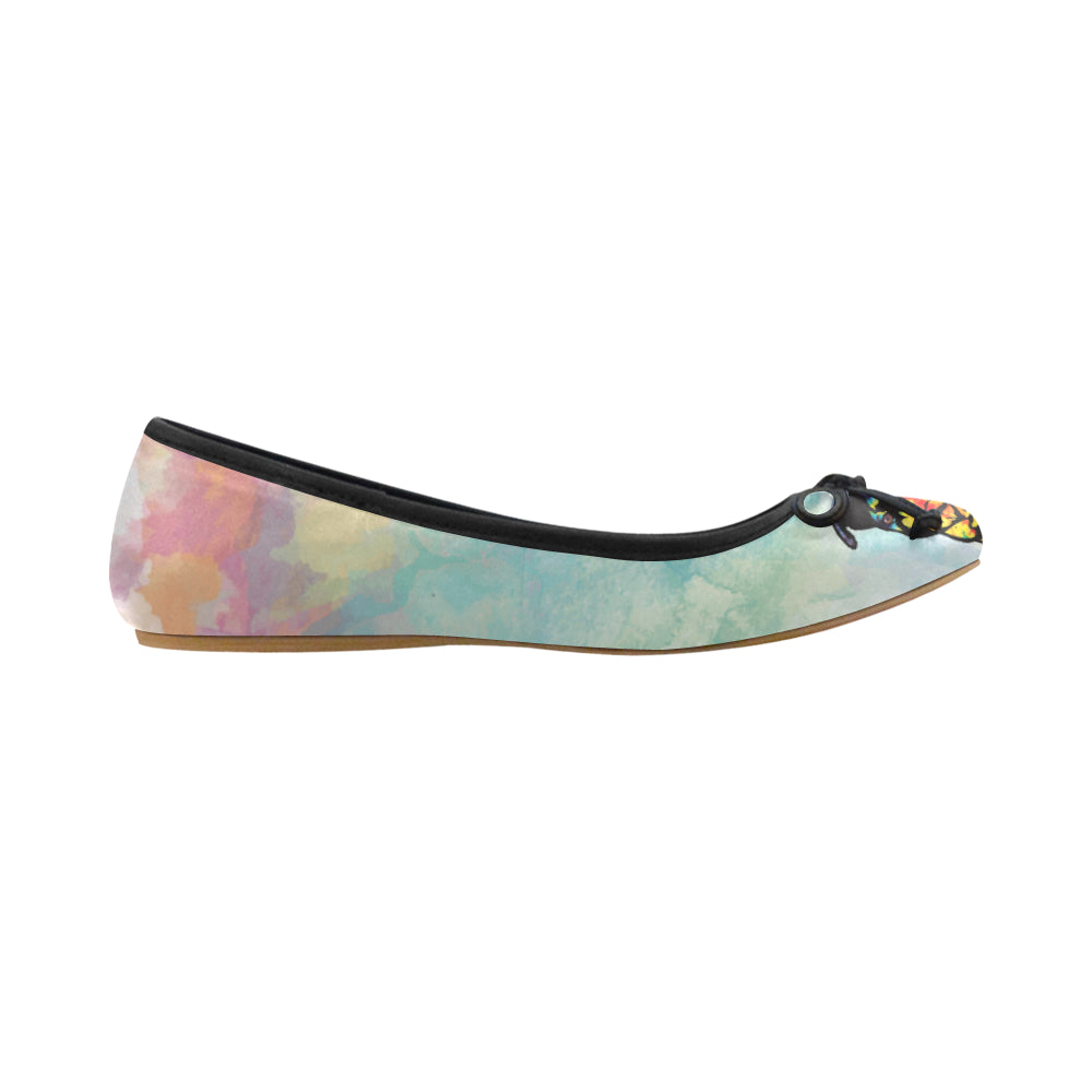 Pit Bull Pop Art No.1 Juno Ballet Pumps - TeeAmazing