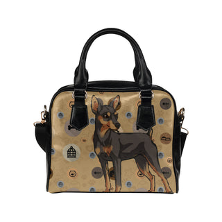 Miniature Pinscher Dog Shoulder Handbag - TeeAmazing