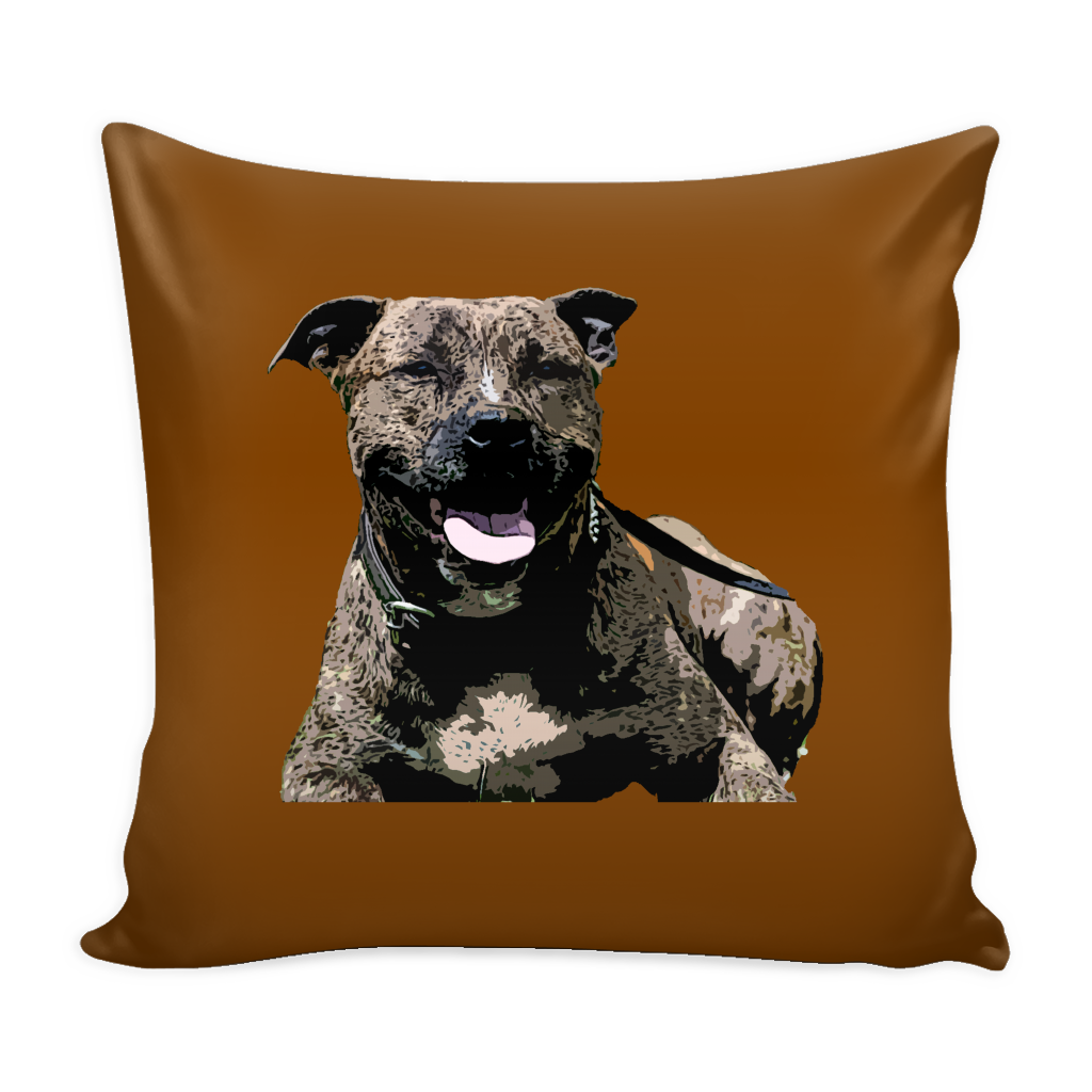 Staffordshire Bull Terrier Dog Pillow Cover - Staffordshire Bull Terrier Accessories - TeeAmazing - 2