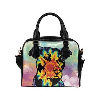 Pit Bull Pop Art No.1 Shoulder Handbag - TeeAmazing
