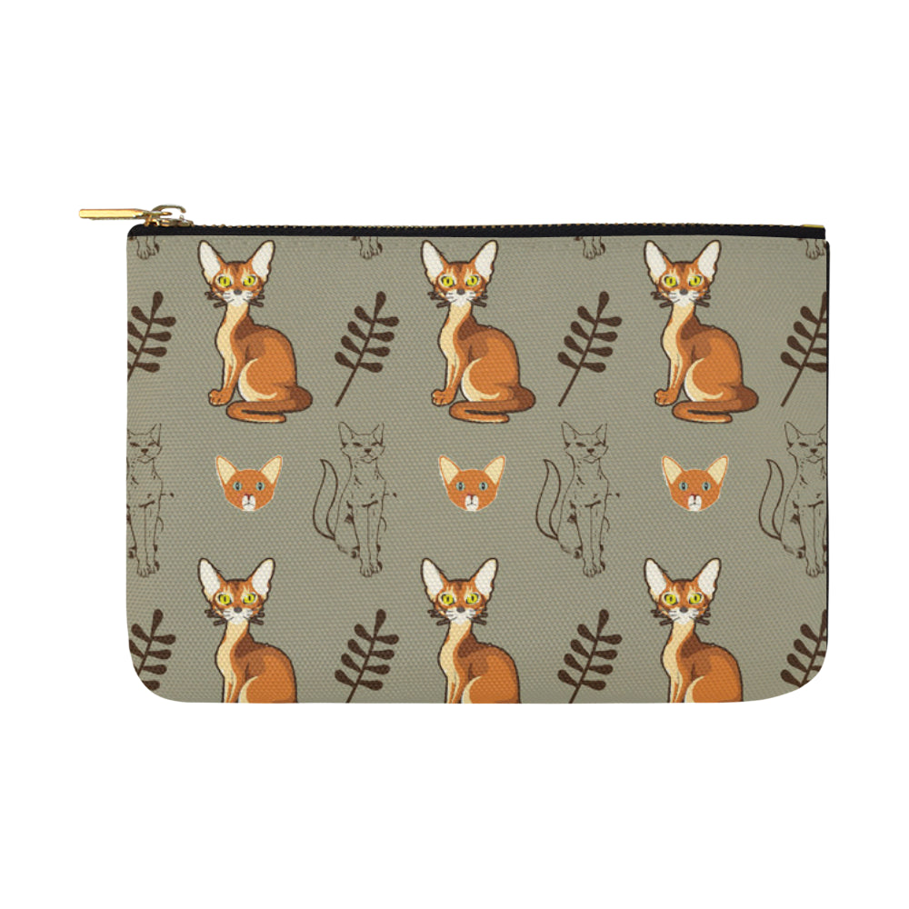 Abyssinian Carry-All Pouch 12.5''x8.5'' - TeeAmazing