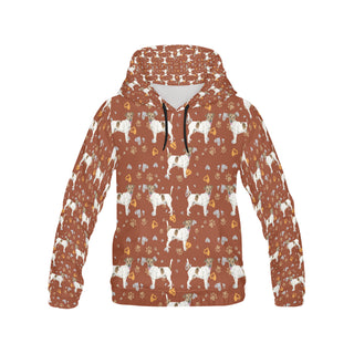 Jack Russell Terrier Water Colour Pattern No.2 All Over Print Hoodie for Men - TeeAmazing