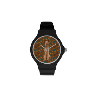 Irish Terrier Dog Unisex Round Plastic Watch - TeeAmazing