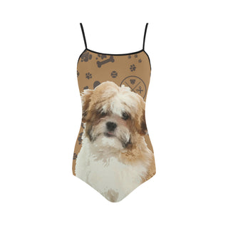 Maltese Shih Tzu Dog Strap Swimsuit - TeeAmazing