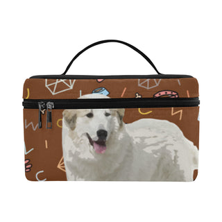 Great Pyrenees Dog Cosmetic Bag/Large - TeeAmazing
