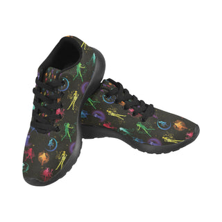 All Sailor Soldiers Black Sneakers for Men - TeeAmazing