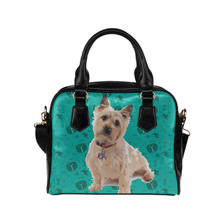 Cairn terrier Shoulder Handbag (Model 1634) - TeeAmazing
