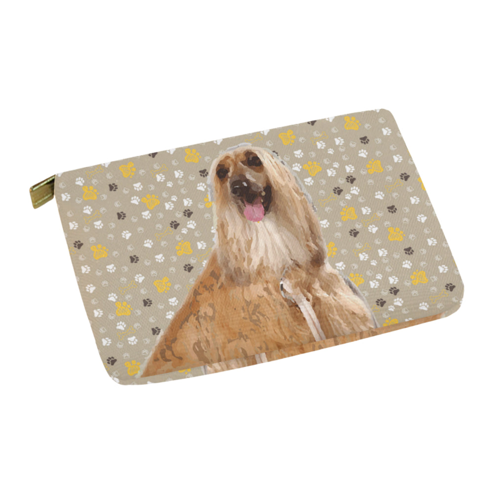 Afghan Hound Carry-All Pouch 12.5x8.5 - TeeAmazing